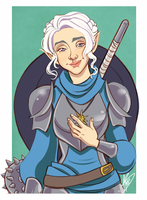 Pike by naomimakesart