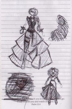 *Spoilers* Comet Costume Designs by Gabby413