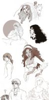 Sketches from Castille by KiraMizuno