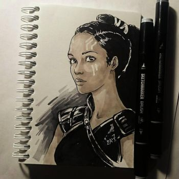 Instaart -  Valkyrie by Candra