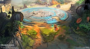 HeartLands Concept Painting 7 by whatzitoya