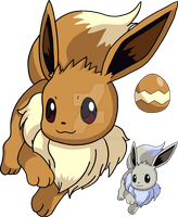133 - Eevee - Art v.3 by Tails19950