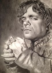 TYRION LANNISTER by HuseyinAltinisik