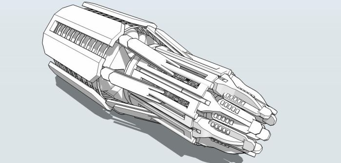 Achilles Space Craft Engine by MrJumpManV4