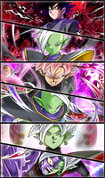 Black Goku, Zamasu #01 Wallpaper by Zeus2111