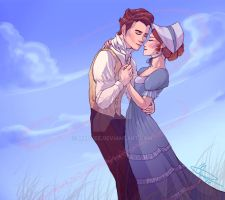 Regency Couple by Mapvee