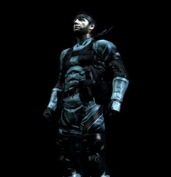 Metal Gear Solid 2 Snake by CapLagRobin