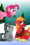 MarbleMac under the Mistletoe by AleximusPrime