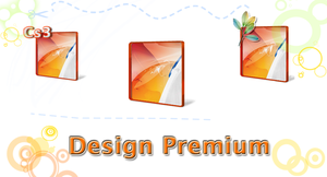 Design Premium CS3 Icons by AkiraNinja