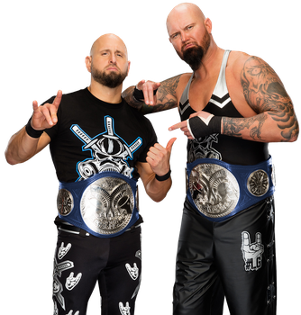 The Club WWE Tag Team Champions by Nibble-T