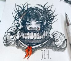 Himiko toga by Jehadoodle