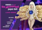 Lady Gaga Paper Doll: ARTRAVE by DibuMadHatter