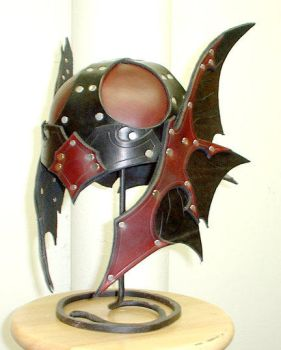 Custom Dragon Helm by Dmitriwolf