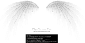 Simplistic Wing - White by Thy-Darkest-Hour