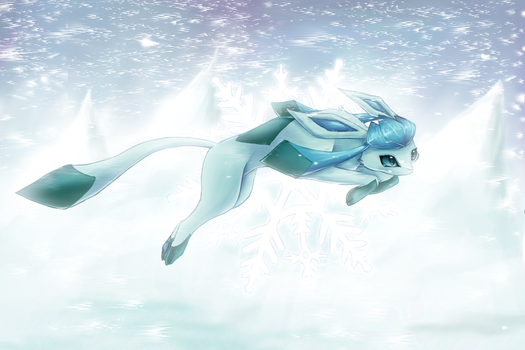 Glaceon by FinsterlichArt