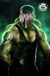 Dave Bautista as Bane by Bryanzap