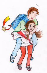 YongSeo - Piggyback by Last-Sheep