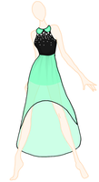 First dress of THE EMFOUR collection by borkiko