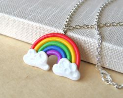 Rainbow Necklace by Madizzo