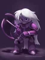 Armored Gems - Amethyst by Montano-Fausto