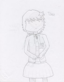 Trucy - Uncolored by ChainSolur
