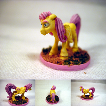 Table-Top Mini: Fluttershy by NPCtendo