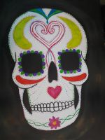 Sugar skull  by TaitGallery