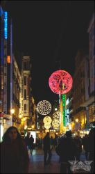 Christmas in Madrid I by MissArtistsoul
