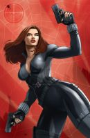 Black Widow by Dan-the-artguy