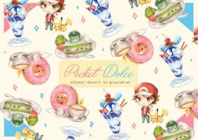 Pocket Dolce - Pokemon Desserts by GreyRadian