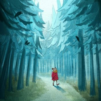 A walk in the forest by margieeee