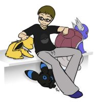 Pokemon Trainer Justin by mewgal