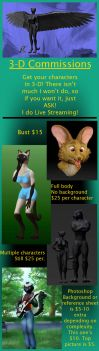 Commission Prices by AdnamaSilverstone