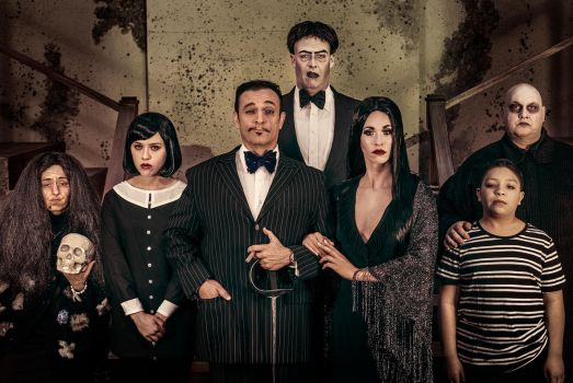 The Addams Family by usagicassidy