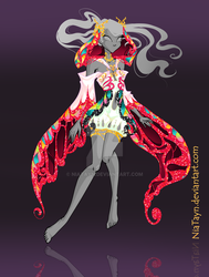 (CLOSED) Adoptable Outfit Auction 2 (Butterflix) by NiaTayn