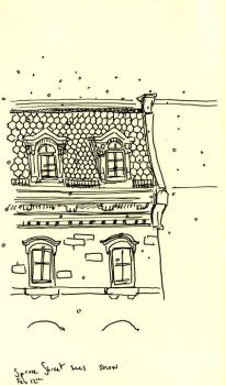 Spruce Street Sees Snow by lestelle