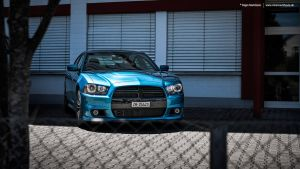 Blue Dodge Charger by AmericanMuscle