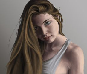 Portrait from reference by KevinFurr