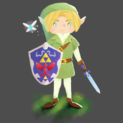 Link ~ the hero of time by HarajukuNoMatie