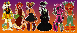 October Floralling Mystery Adopts Revealed! by Prismativity