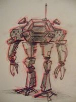 Mech Design by LaundryPile