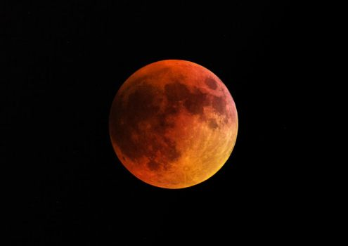 Super Blood Moon by mytthor