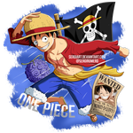 One Piece - Monkey D. Luffy by SergiART