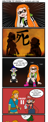 Welcome to smash ! SSB for the switch comic by lazy-Time