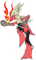 Box 09. 257 Mega Blaziken by Kuruttra