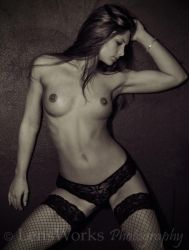 Emma Sepia 2 by lensworksphotography