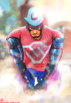 Spring Man by adoggo