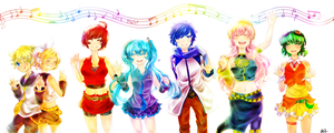 VOCALOID by Geminid