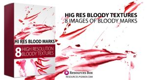 FREE High Resolution Bloody Marks by Andrei-Oprinca