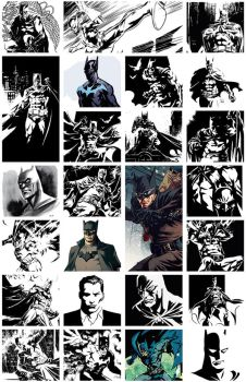 Too Many Batmans by ronsalas